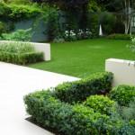 Wandsworth Minimalist Garden plan stunning and geometric