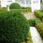 Earlsfield formal front garden ideas, bespoke fencing