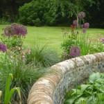 landscape design Petworth Sussex downland garden nostalgic and rustic