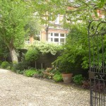 Wandsworth Common Battersea traditional gated front drive and garden