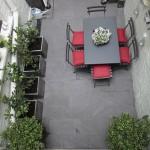 roof patio garden of this Balham garden