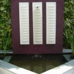 Chelsea minimalist bright contemporary garden crisp and dynamic