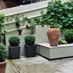 battersea courtyard design by Henrietta Gentilli garden design