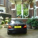 Battersea Balham planted front drive exuberant flowers