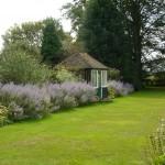 landscape design Surrey Country Garden soft curved lines and planting landscape design
